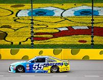 SpongeBob Squarepants NASCAR 400 Style Guide