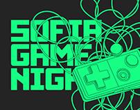 SOFIA GAME NIGHT / Visual Identity