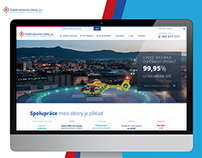 Liberec hospital - webdesign