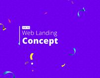 Web Landing Concept (Vol. 2)