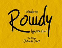 Rowdy Typeface