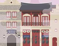 World Showcase Architectural Study | China