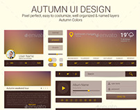 Autumn UI design