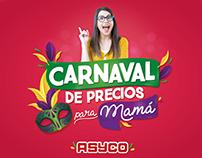 Carnaval de precios para mamá