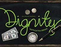 Dignity Cursive