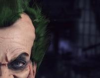 The Joker (Zbrush sculpt)