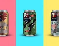R0+ Beer Branding