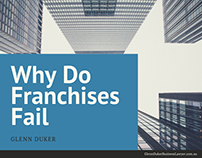Glenn Duker on Why Do Franchises Fail