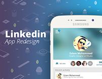 Linkedin App Redesign