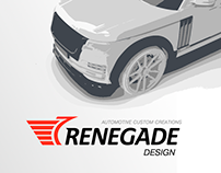 Renegade — print branding