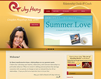Joy Hosey (Wordpress Site)
