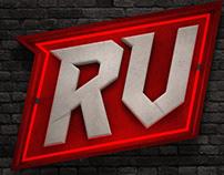 Logo RV Fitness CGI - Neon Test