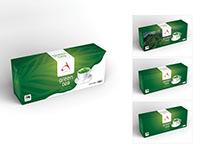 Acwon® Green Tea Packaging