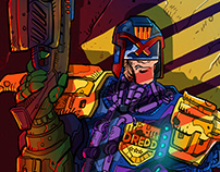 Dredd by Antunesketch (Fan art)
