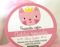 Hang tag packaging para Bebelutti