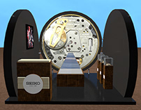 Seiko | 3D Design Booth