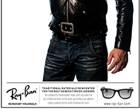 Ray-Ban:  Reinvent Yourself   Ad Campaign