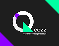 Qeezz - logo and homepage REDESIGN