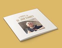 Dr. John Starkey Tribute Book