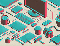 Isometric objects