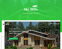 SkyHills - fullpage motion design