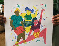 Party Screen-print