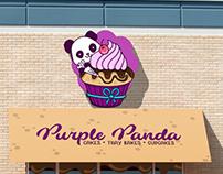 Purple Panda - Brand Identity