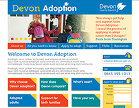 Devon Adoption branding and new website