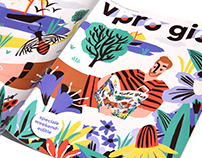 Cover Illustration / VPRO Magazine