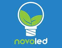 Novoled ~ Branding, logo and card design