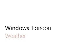 Windows London Weather