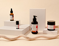 Naemo - organic cosmetic packaging and branding