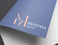 """Identity for the social project """"Library of the Dream"""""""
