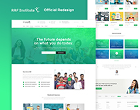 RRF Institute Official Redesign -