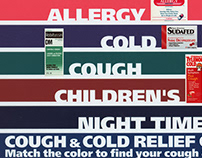 Cough & Cold Relief Center, display header