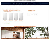 WeatherStrong Website Design and Development