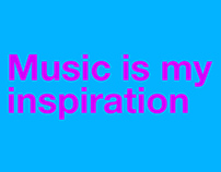Music is my inspiration (A-Z of drum and bass)