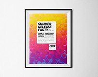 Summer Release Party - Poster