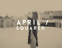April Squared // Logo and Identity