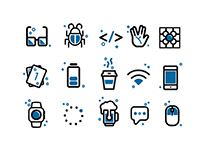 Mobile Center Iconography