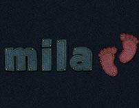 Stitched Denim Text Effect