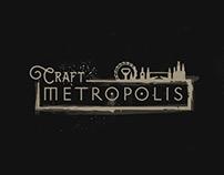Craft Metropolis Branding & Responsive e-commerce site