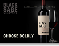 Black Sage Vineyard Website