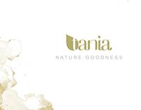 TANIA brand identity