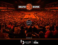 Final Four 2016-Selfie Dunk / Microsite