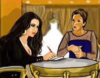 """Kalam 3ala wara2"" series concept storyboard"