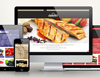 Delishh! Website Design