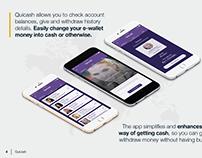 Quicash App - Product Design