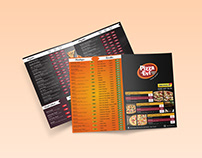 Pizza Evi A4 Brochure