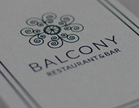 Balcony Restaurant & Bar | Visual Identity